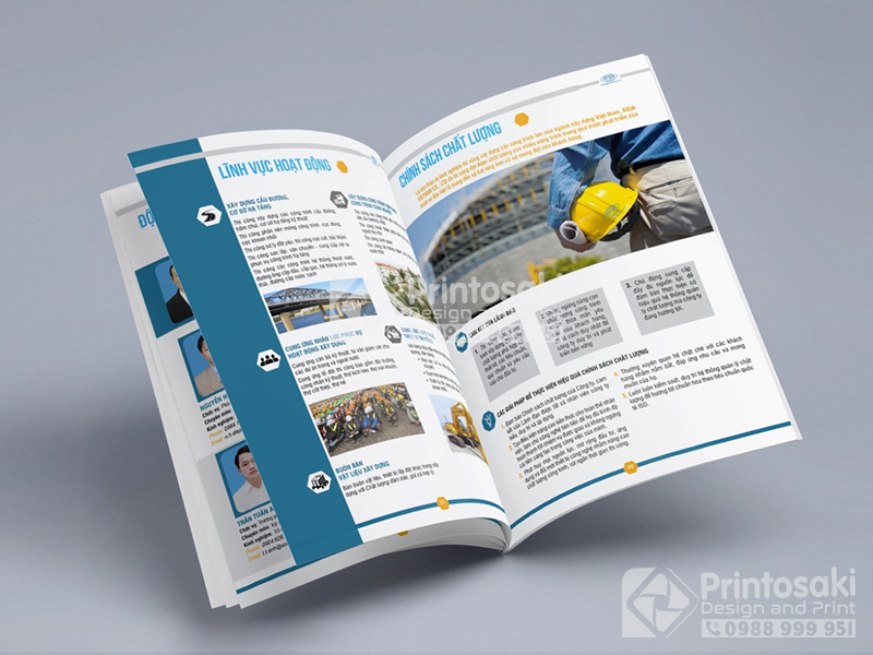 công ty thiết kế catalogue uy tín ở Hà Nội
