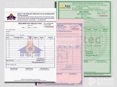 Báo giá in hóa đơn