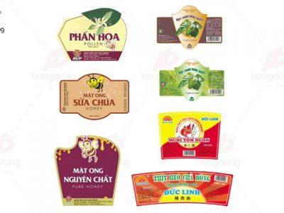 Tổng hợp 5 xưởng in tem nhãn uy tín chất lượng ở Hà Nội
