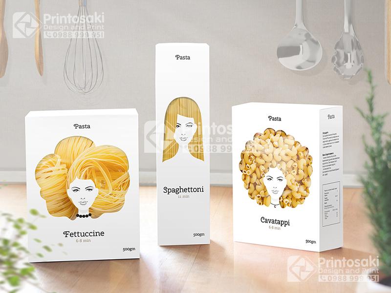 In vỏ hộp Pasta-Trio