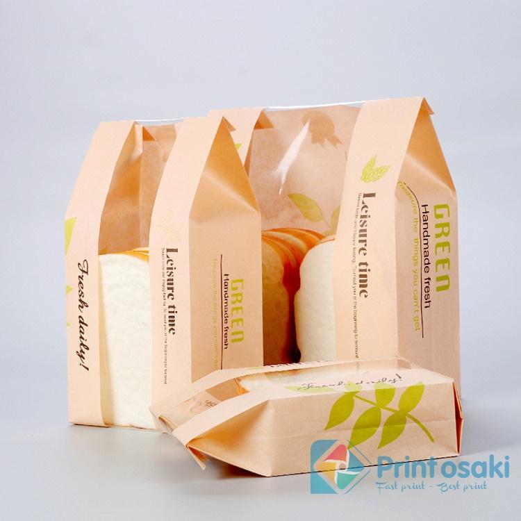 in túi giấy bánh mỳ