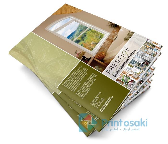 Đừng quên đặt thông tin liên lạc ở vị trí dễ thấy khi thiết kế catalogue