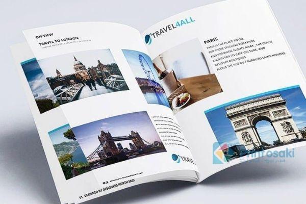 Thiết kế đơn giản sẽ cho cuốn catalogue đẹp