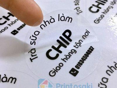Top 5 địa chỉ in tem dán cốc có ưu đãi giảm giá 30% trong năm 2020