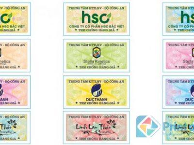 In tem bảo hành chống hàng giả giá rẻ tại Hà Nội lấy ngay