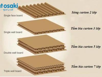 Các loại kiểu dáng hộp giấy phổ biến hiện nay